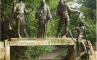 """Памятник """"Я, Бабушка, Илико и Илларион"""", Тбилиси, Грузия, фото №1"""